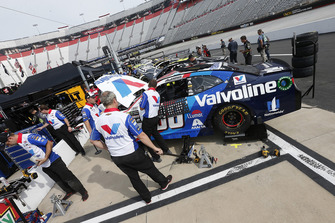 Jimmie Johnson, Hendrick Motorsports, Chevrolet Camaro Lowe's for Pros Alex Bowman, Hendrick Motorsports, Chevrolet Camaro Valvoline