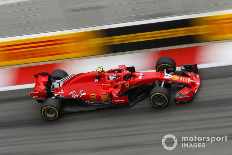 4: Кими Райкконен, Ferrari SF71H, 1'32.237
