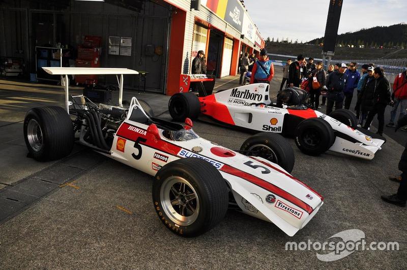 Honda RA301 dan McLaren Honda MP4/6