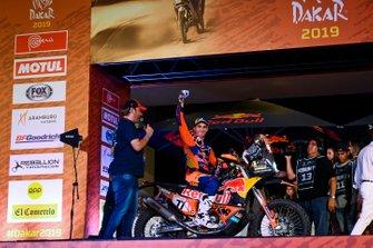 Podium: Red Bull KTM Factory Racing KTM: Luciano Benavides
