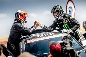 Нани Рома и Алеш Харо, X-raid MINI JCW Rally Team, MINI JCW Rally (№307)