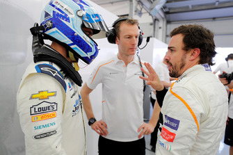 Jimmie Johnson, Fernando Alonso