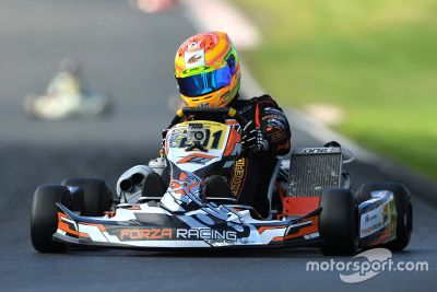 George Russell karting photos
