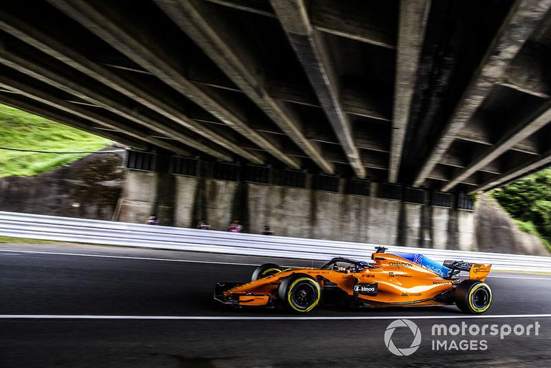 18: Fernando Alonso, McLaren MCL33, 1:30.573