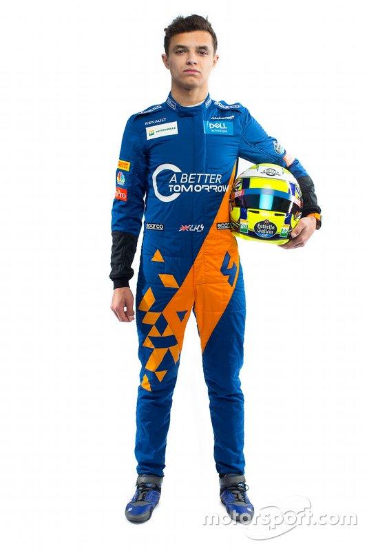 #4 Lando Norris, McLaren (Llega de Fórmula 2)