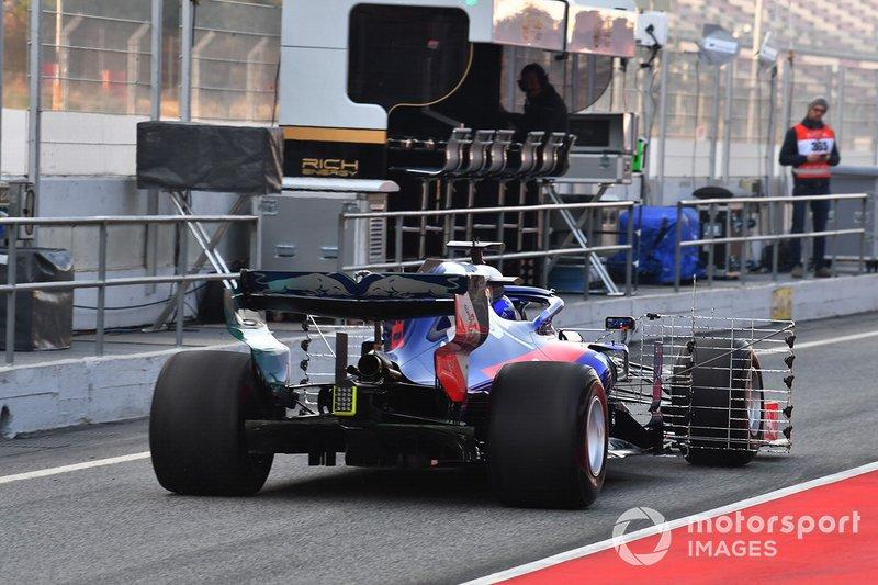 Scuderia Toro Rosso STR14, aeroszenzorok