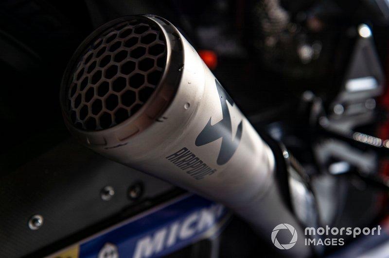 Detalles de la moto del Red Bull KTM Tech 3
