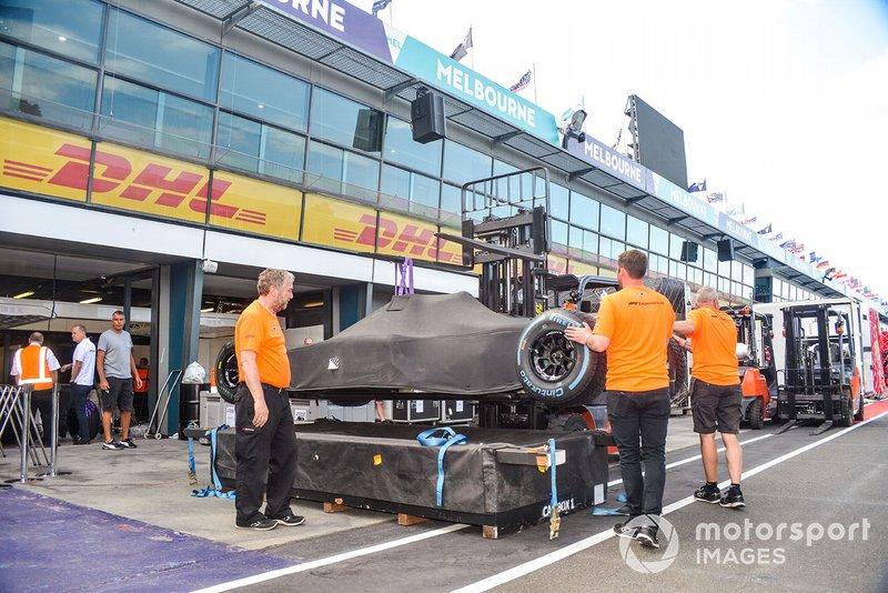 F1 onder de doeken