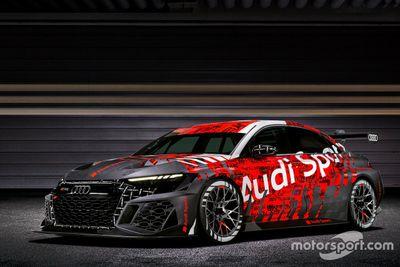 Audi RS 3 LMS TCR launch