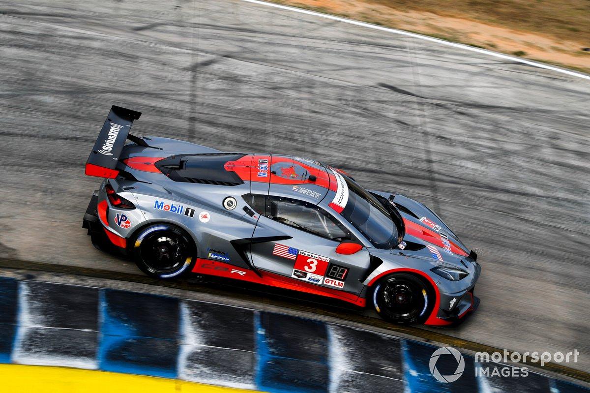 #3 Corvette Racing Corvette C8.R, GTLM: Jordan Taylor, Antonio Garcia, Nicky Catsburg