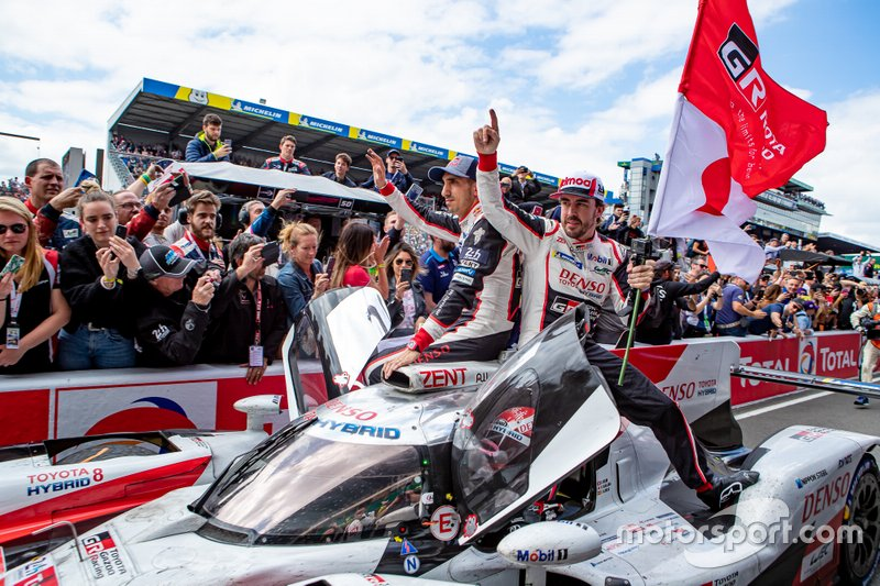 Le Mans 2019: Sebastien Buemi, Kazuki Nakajima and Fernando Alonso do the double