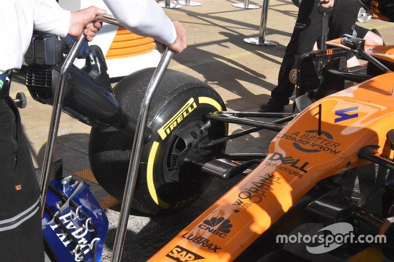 McLaren MCL34 technical detail
