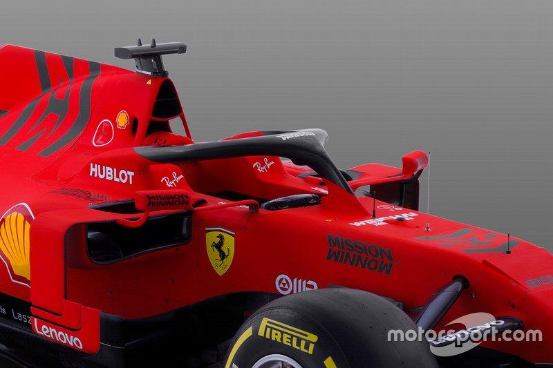 Detalle del Ferrari SF90