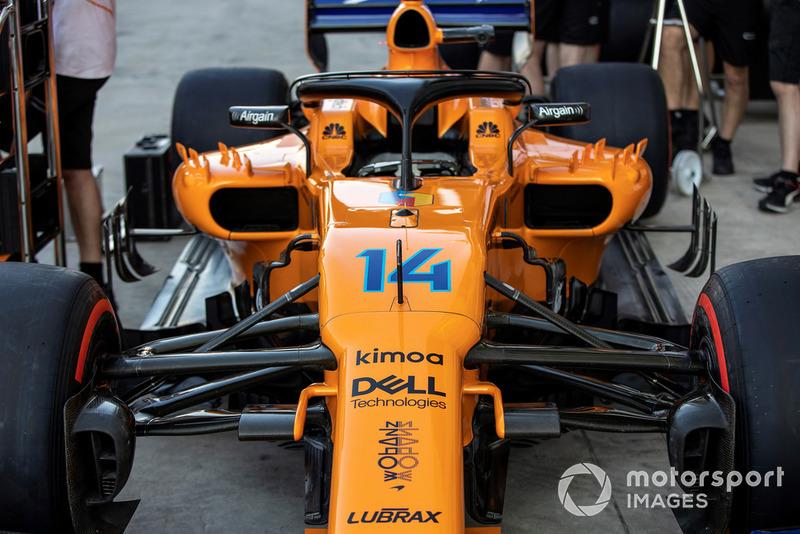 Decoración especial para Fernando Alonso, McLaren MCL33