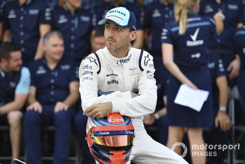 Robert Kubica, Williams at the Williams Racing Team Photo