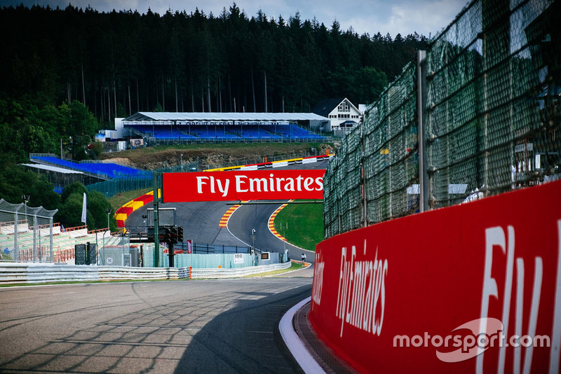 Track detail on Eau rouge