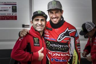 Paulo Gonçalves y Joan Barreda, Monster Energy Honda Team