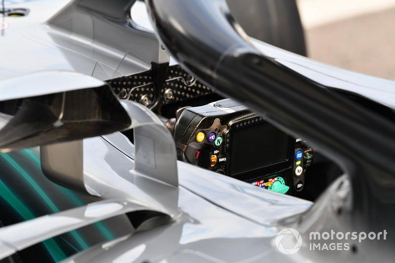 Un volant de Mercedes-AMG F1 W09