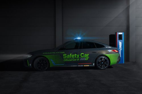 BMW i4 M50 Safety Car unveil