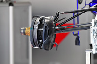 Scuderia Toro Rosso STR13 front wheel hub