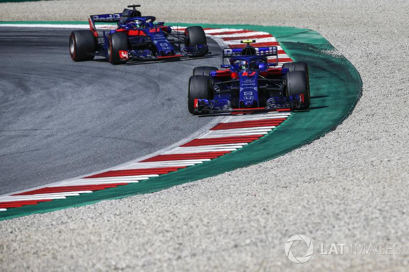 Pierre Gasly - Scuderia Toro Rosso: 8