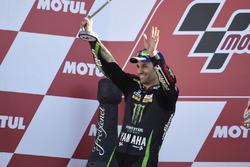Podio: Johann Zarco, Monster Yamaha Tech 3