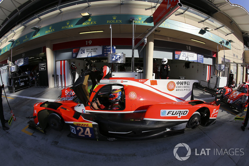#24 CEFC Manor TRS Team China ORECA 07-Gibson: Метт Рао, Бен Хенлі, Жан-Ерік Вернь