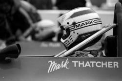Mark Thatcher, the son of British Prime Minister Margaret Thatcher.