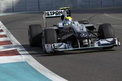 Ніко Росберг, Mercedes GP W01