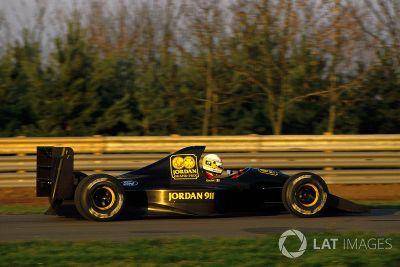 Formel-1-Test in Silverstone, November