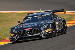 #90 Akka ASP Team Mercedes-AMG GT3: Jack Manchester, Nico Bastian, Jules Szymkowiak, Fabian Schiller