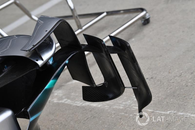 Mercedes-AMG F1 W09, deviatori di flusso