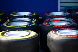 Pirelli Soft and Supersoft tyres