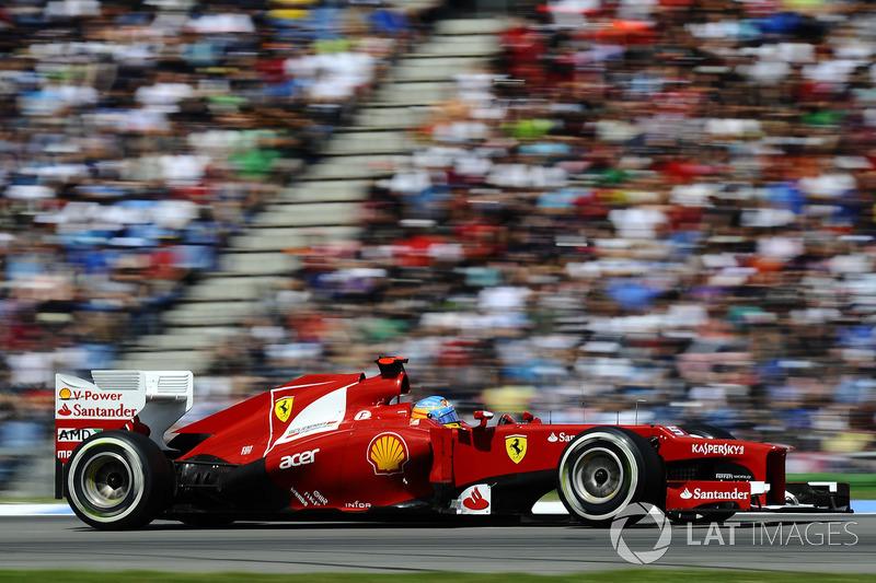 2012: Fernando Alonso, Ferrari F2012