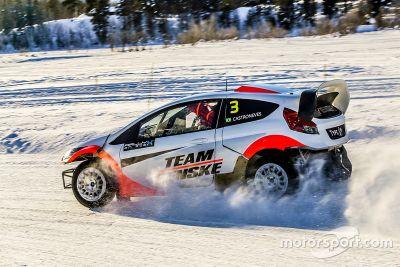 RallyX on Ice: Gol