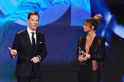 Benedict Cumberbatch and Kate Abdo