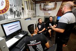2017 NASCAR Drive for Diversity participants at Bethune Cookman University