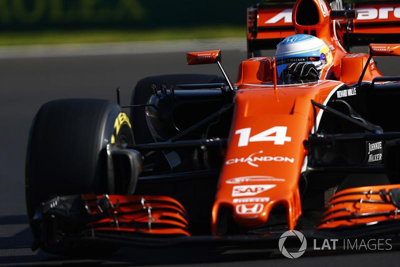6. Fernando Alonso: 65 punten - positie ongewijzigd