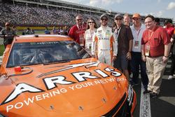 Daniel Suárez, Joe Gibbs Racing, Toyota Camry ARRIS invitados