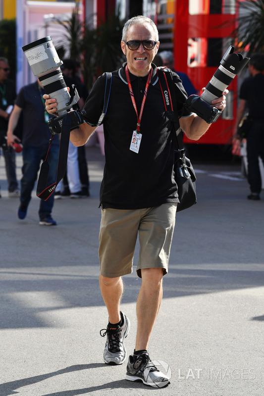 Mark Thompson, fotógrafo de Getty Images
