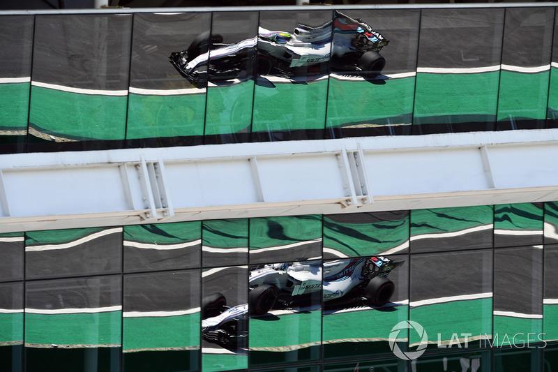 Felipe Massa, Williams FW40 reflection