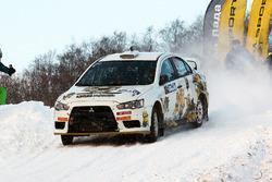 Сергей Попов и Андрей Галькевич, Mitsubishi Lancer Evo X