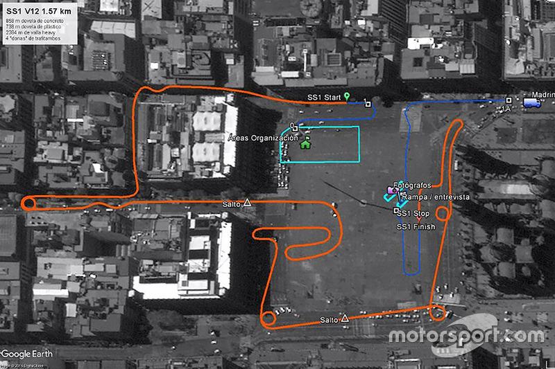 Mapa Ruta Street Stage CDMX