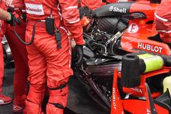 Le moteur de Kimi Raikkonen, Ferrari SF70H