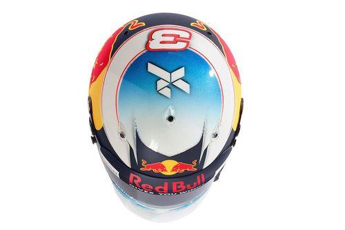 Daniel Ricciardo 2017 casco