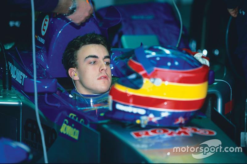 December 1999: Fernando Alonso