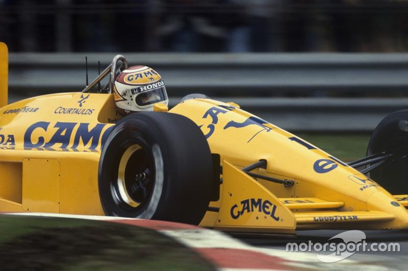 Nelson Piquet, Lotus 100T Honda