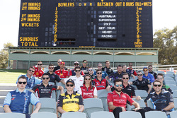Drivers at Adelaide Oval