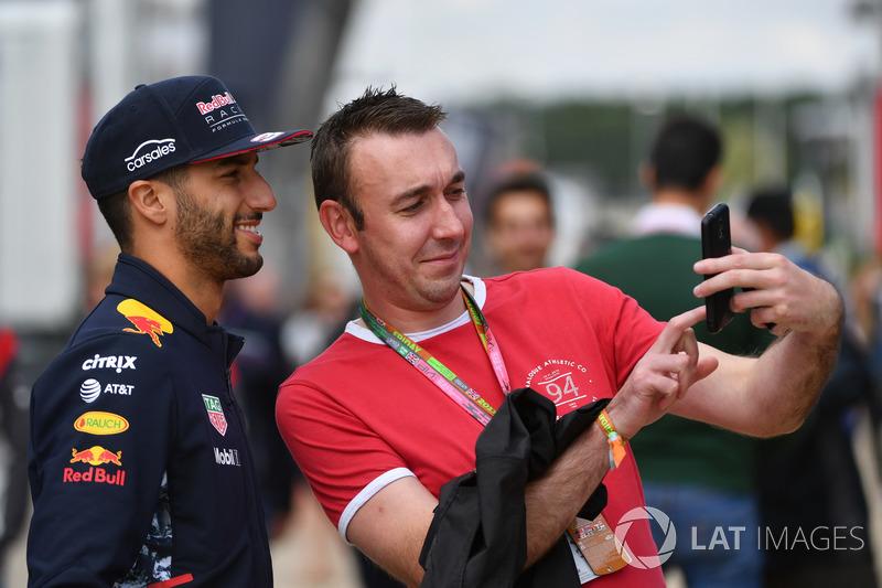 Даніель Ріккардо, Red Bull Racing, убоівальник