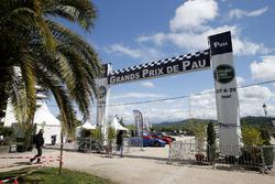 Eingang zur Rennstrecke in Pau